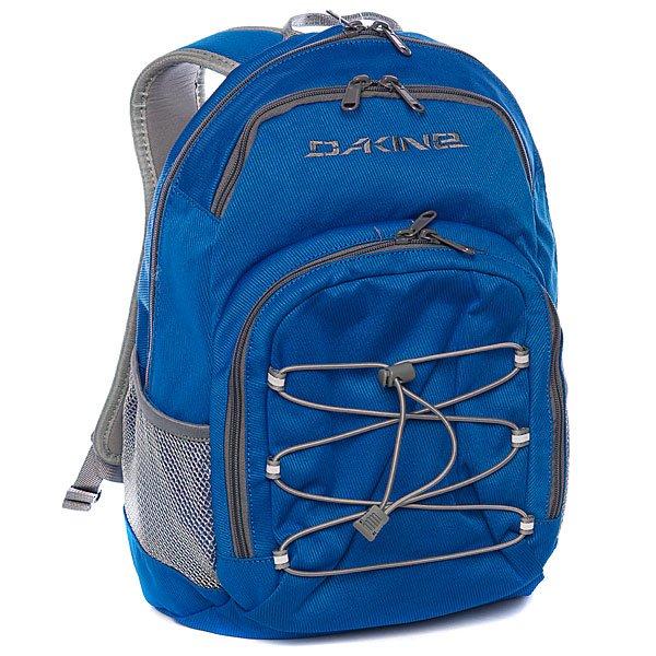 Рюкзак школьный Dakine Scooler Pack BlueСумочка для еды, что удобно для любого школьника Специальный кармашек для индентификационной карточкиОтдел для очковОтражатели на внешней поверхности рюкзака для безопасности в темное время сутокВнешний отдел на молнииОбъём:18 л.<br><br>Цвет: голубой<br>Тип: Рюкзак школьный<br>Возраст: Взрослый