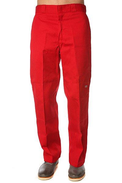 Штаны прямые Dickies Double Knee Work Pant English Red