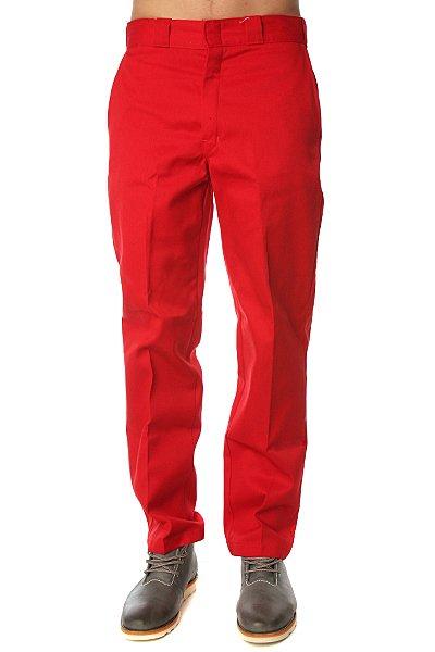 Штаны прямые Dickies Original 874 Work Pant Er English Red<br><br>Цвет: красный<br>Тип: Штаны прямые<br>Возраст: Взрослый<br>Пол: Мужской