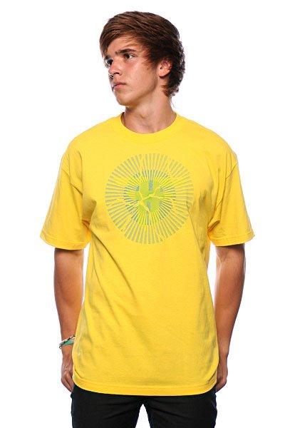 Футболка Fallen Unregistered Yellow/Cyan Подарок<br><br>Цвет: желтый<br>Тип: Футболка<br>Возраст: Взрослый<br>Пол: Мужской
