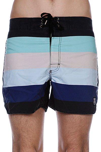 Пляжные мужские шорты Insight Retro Stud Bunker Black<br><br>Цвет: черный,зеленый,белый<br>Тип: Шорты пляжные<br>Возраст: Взрослый<br>Пол: Мужской