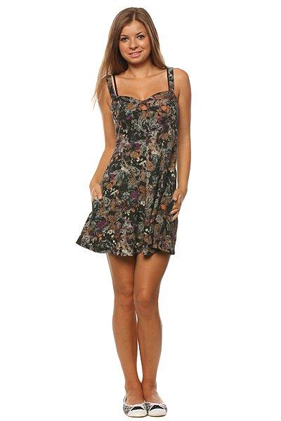 Платье женское Insight Winona Dress Black<br><br>Цвет: черный<br>Тип: Платье<br>Возраст: Взрослый<br>Пол: Женский