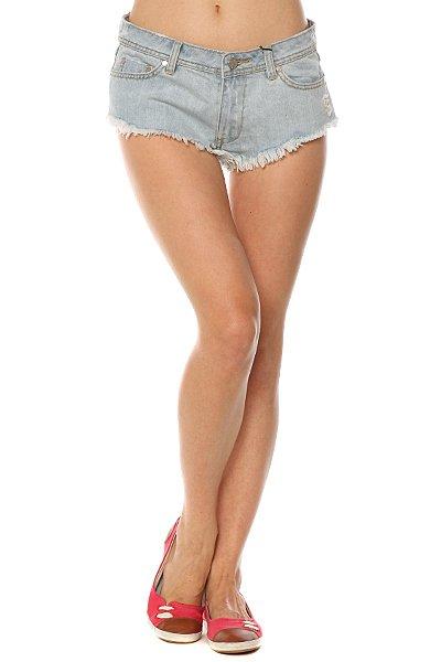 Шорты джинсовые женские Insight All Out Short Guns And Roses<br><br>Цвет: голубой<br>Тип: Шорты джинсовые<br>Возраст: Взрослый<br>Пол: Женский