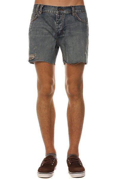 Джинсовые мужские шорты Insight Jagered Mid Mid Blue Classic<br><br>Цвет: голубой<br>Тип: Шорты джинсовые<br>Возраст: Взрослый<br>Пол: Мужской