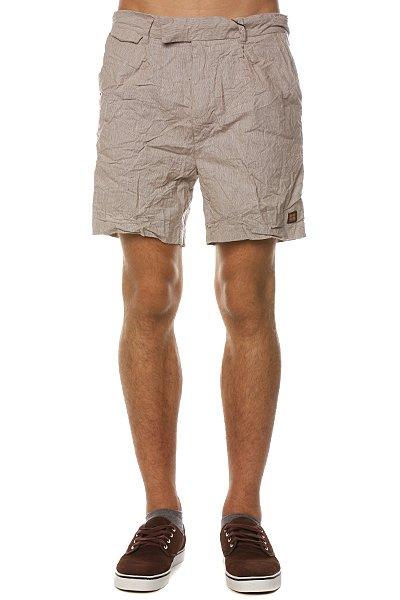 Классические мужские шорты Insight Satorial Mid Sand Slub<br><br>Цвет: бежевый<br>Тип: Шорты классические<br>Возраст: Взрослый<br>Пол: Мужской