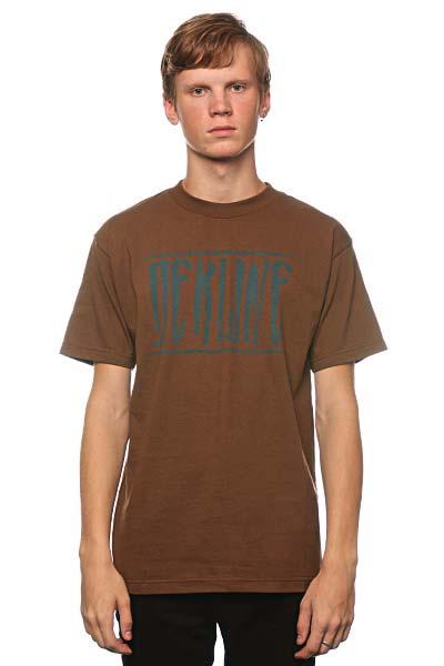Футболка Dekline Strech Coffee<br><br>Цвет: коричневый<br>Тип: Футболка<br>Возраст: Взрослый<br>Пол: Мужской