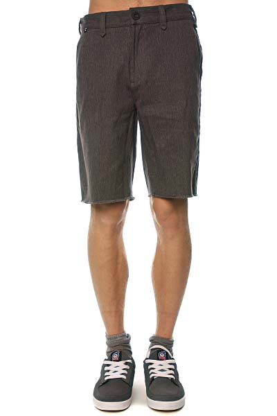 Джинсовые мужские шорты Fallen Chino Short Charcoal Heather<br><br>Цвет: серый<br>Тип: Шорты джинсовые<br>Возраст: Взрослый<br>Пол: Мужской