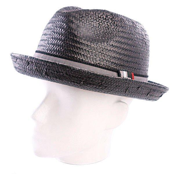 Шляпа Globe Trevino Fedora Black<br><br>Цвет: черный<br>Тип: Шляпа<br>Возраст: Взрослый<br>Пол: Мужской
