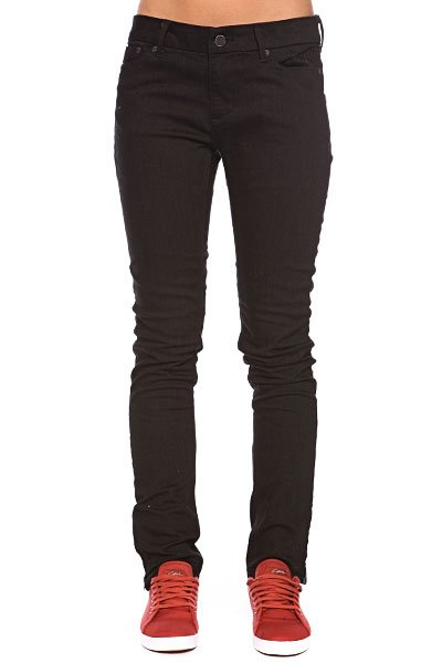 Джинсы узкие женские Insight Skinny Stretch Ankle Biter Black