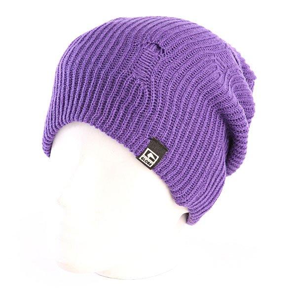 Шапка носок мужская Globe Donovon Beanie Purple<br><br>Цвет: фиолетовый<br>Тип: Шапка носок<br>Возраст: Взрослый