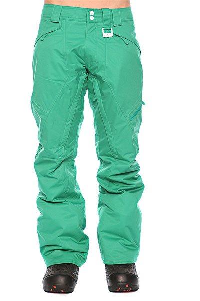 Штаны сноубордические Oakley White Smoke Pant Lush Green