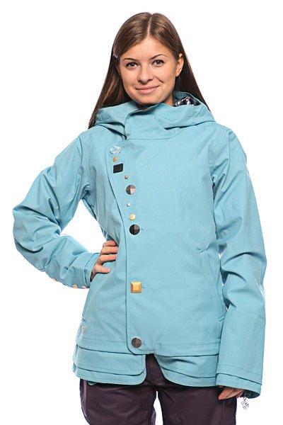 Куртка женская Oakley Gb Eco Shell Jacket Solar Blue
