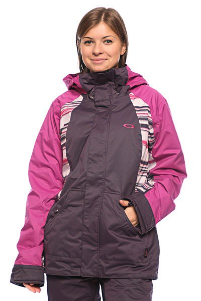 ������ ������� Oakley New Karing Jacket Lavender/Purple Stripe/Purple