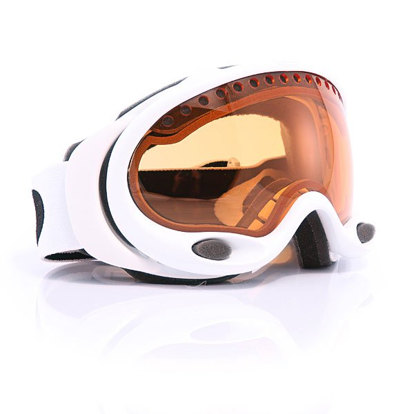 Маска Oakley A Frame Snow Matte White Persimmon
