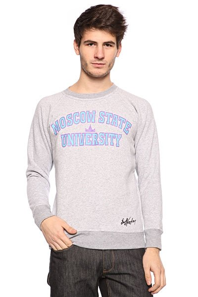 Толстовка Bat Norton Unisex MSU Grey