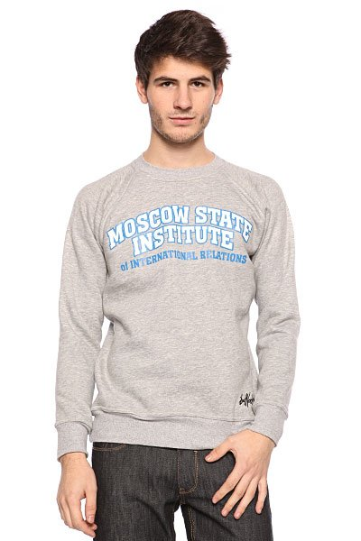 Толстовка Bat Norton Unisex MSIOIR Grey