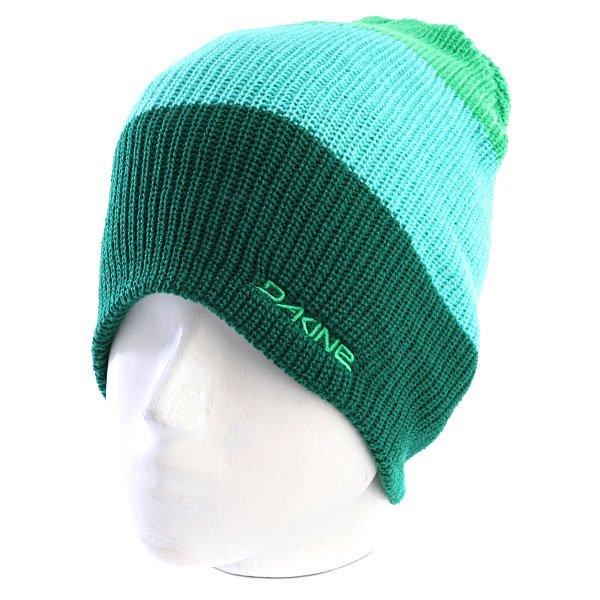 Шапка носок мужская Dakine Lester Green<br><br>Цвет: зеленый,голубой<br>Тип: Шапка носок<br>Возраст: Взрослый<br>Пол: Мужской