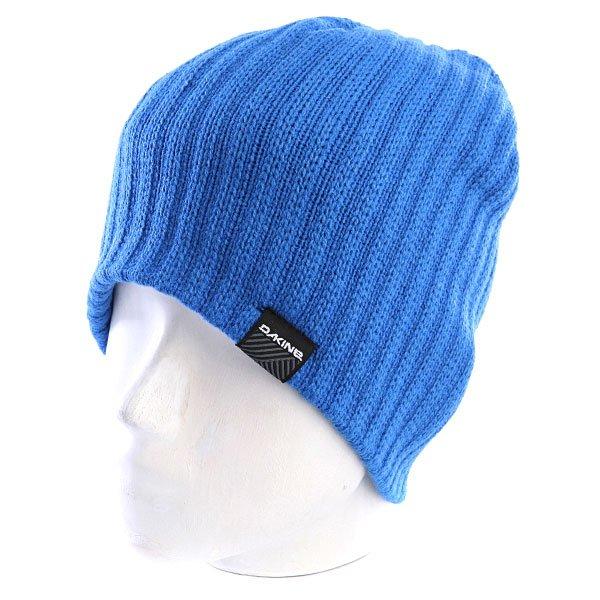 Шапка носок мужская Dakine Vert Rib Blue<br><br>Цвет: синий<br>Тип: Шапка носок<br>Возраст: Взрослый