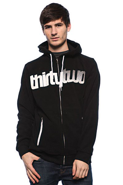 Толстовка Thirty Two Ruffneck - Polar Fleece Black