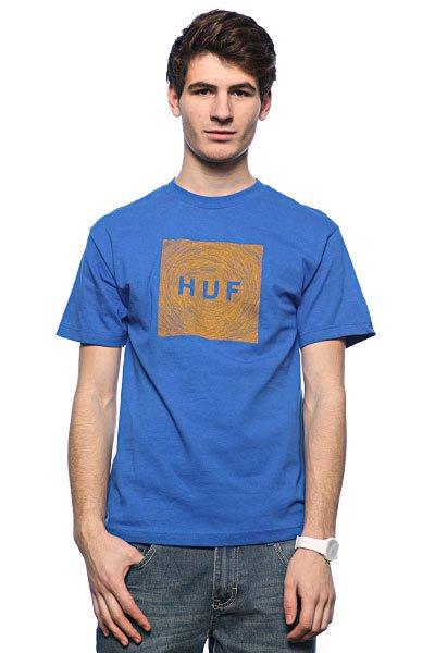 Футболка Huf Hayden Og Logo Royal<br><br>Цвет: голубой<br>Тип: Футболка<br>Возраст: Взрослый<br>Пол: Мужской