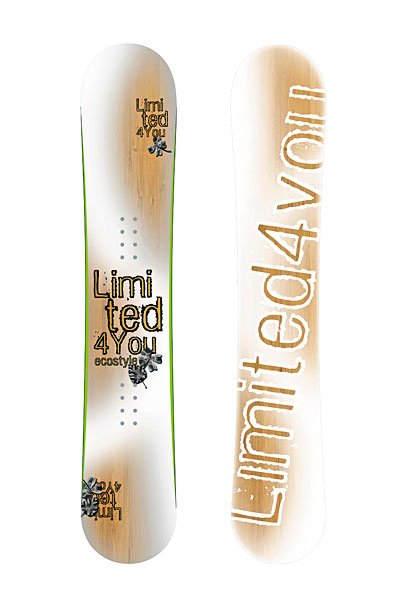 Сноуборд Limited4You Ecostyle Translucent 154
