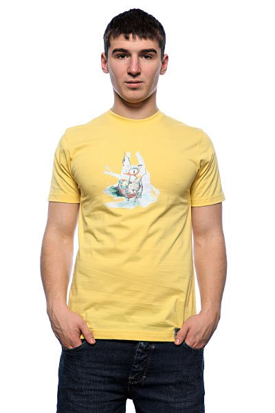 Футболка Apo Coin Sunshine<br><br>Цвет: желтый<br>Тип: Футболка<br>Возраст: Взрослый<br>Пол: Мужской