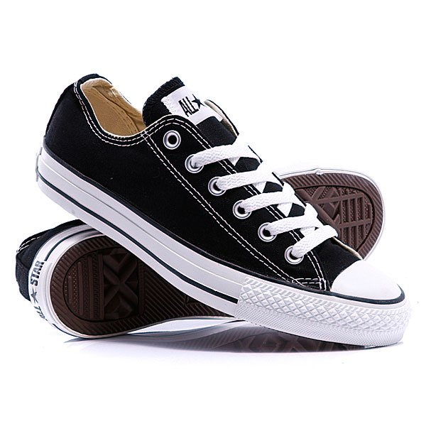 Кеды кроссовки Converse Chuck Taylor As Core Unisex Canvas Ox M9166 Black