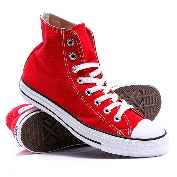 ���� ��������� ������� Converse Chuck Taylor As Core Unisex Canvas Hi M9621 Red