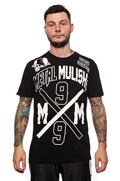 Футболка Metal Mulisha Intersect Custom Black