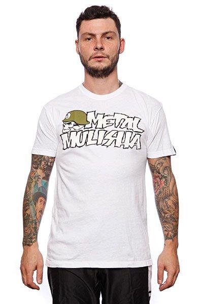 Футболка Metal Mulisha Og Icon Custom White<br><br>Цвет: белый<br>Тип: Футболка<br>Возраст: Взрослый<br>Пол: Мужской