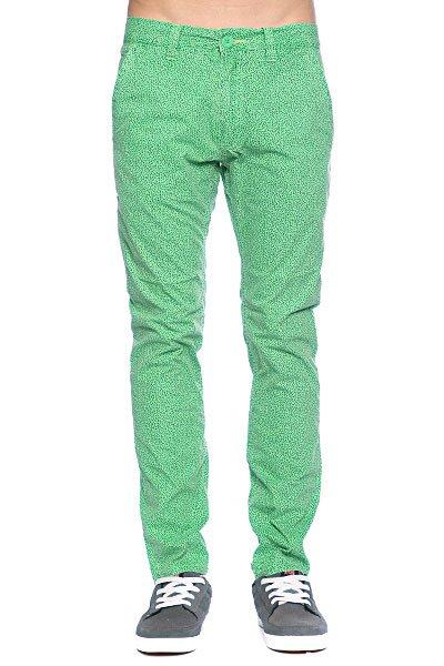 Брюки Globe Wiggle Pant Black/Green<br><br>Цвет: зеленый<br>Тип: Штаны прямые<br>Возраст: Взрослый<br>Пол: Мужской