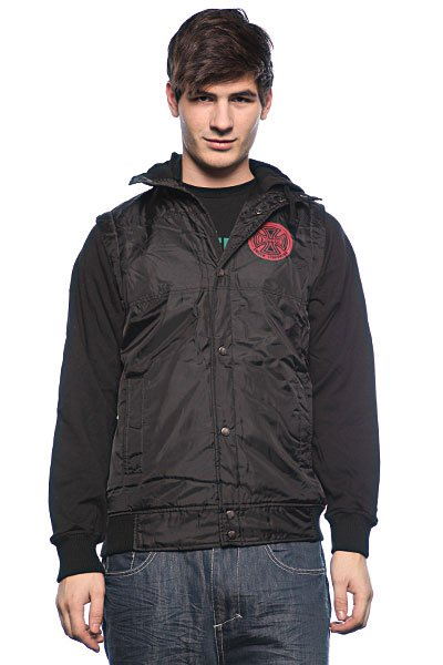 Ветровка мужская Independent Chance Quilted Vest Black high chance 18