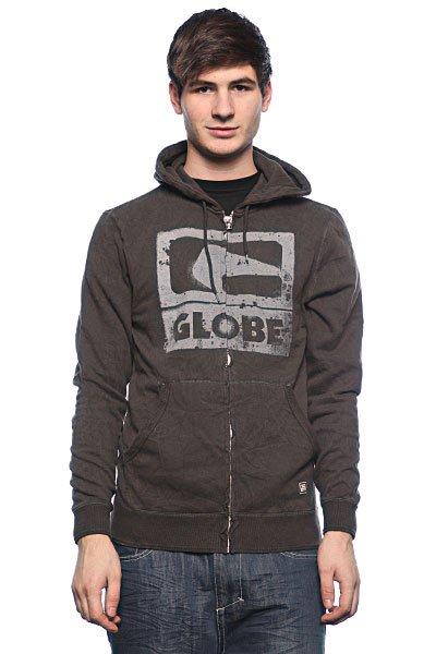 Толстовка Globe Bandit Hoodie Vint Black<br><br>Цвет: серый<br>Тип: Толстовка классическая<br>Возраст: Взрослый<br>Пол: Мужской