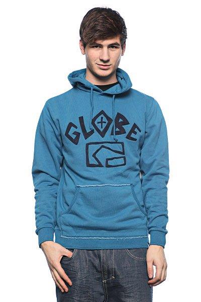 Толстовка Globe Hijack Hoodie Sea<br><br>Цвет: синий<br>Тип: Толстовка классическая<br>Возраст: Взрослый<br>Пол: Мужской