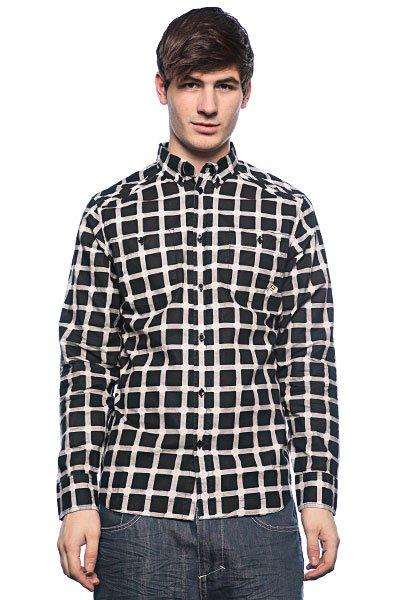 Рубашка в клетку Globe Mueller Shirt Black<br><br>Цвет: черный<br>Тип: Рубашка в клетку<br>Возраст: Взрослый<br>Пол: Мужской