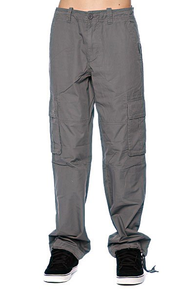 Штаны Quiksilver By Chance Charcoal Proskater.ru 1809.000