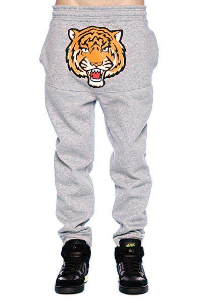 Штаны прямые унисекс Super Tiger Grey<br><br>Цвет: серый<br>Тип: Штаны спортивные<br>Возраст: Взрослый<br>Пол: Мужской