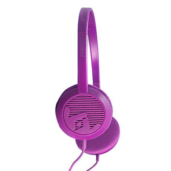 Наушники Frends The Alli PurpleРазмер динамика: 30 ммДиапазон: 20Гц - 20 кГцЧувствительность: 103 дБСопротивление: 32 ОмШтекер: 3,5 ммКабель: 2 метраЕсть микрофонДанные наушники полностью совместимы только с устройствами Apple и BlackBerry.<br><br>Тип: Полноразмерные наушники<br>Возраст: Взрослый<br>Пол: Мужской
