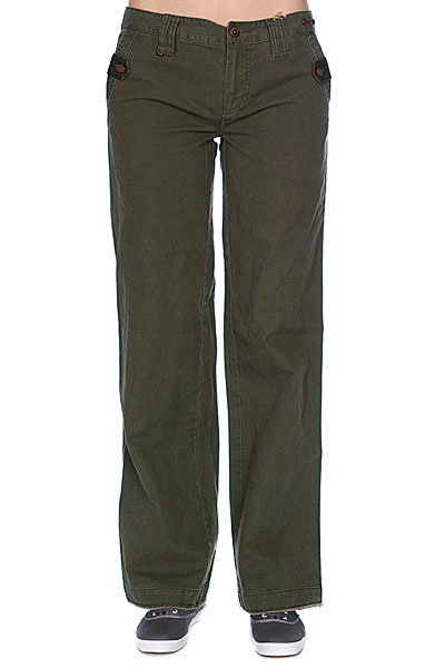 Брюки женские Zoo York Armored Pant Army Fatique