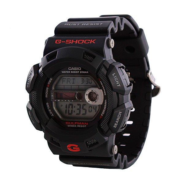 Часы Casio G-Shock G-9100-1EХарактеристики.:Способ отображения:цифровой (электронный)Тип механизма:кварцевыеТип браслета/ремешка:каучуковый ремешокВодонепроницаемость:WR200 (20 атм)Стекло:минеральноеМатериал корпуса:нерж. сталь + пластикИсточник энергии:от батарейкиПротивоударные:даТочность хода:+/- 15 с/месОтображение даты:вечный календарь, число, месяц, год, день неделиСпорт-функции:секундомер, таймер обратного отсчетаДополнительные функции:второй часовой пояс, указатель фаз луны, будильник (количество установок: 3)Особенности:повтор сигнала будильника, ежечасный сигнал, графическое отображение приливов и отливов при вводе широты и долготы месторасположения, двойная электролюминисцентная панель, элемент писания СR2025, срок службы батареи 7 летВес:53 г<br><br>Тип: Электронные часы<br>Возраст: Взрослый<br>Пол: Мужской