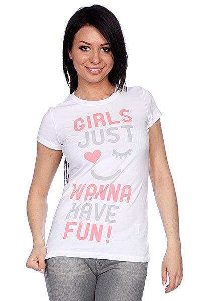Футболка женская Trailhead  Fun White штаны прямые женские trailhead wpt 7023 white