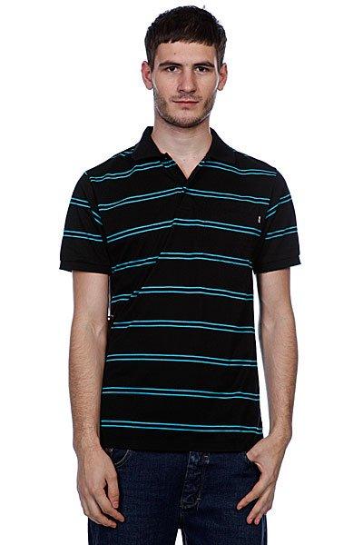 Поло Enjoi Pop Your Collar Striped Black<br><br>Цвет: черный<br>Тип: Поло<br>Возраст: Взрослый<br>Пол: Мужской