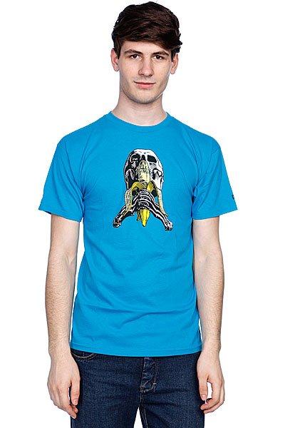 Футболка Blind Skull And Banana Reissue Turqoise<br><br>Цвет: голубой<br>Тип: Футболка<br>Возраст: Взрослый<br>Пол: Мужской