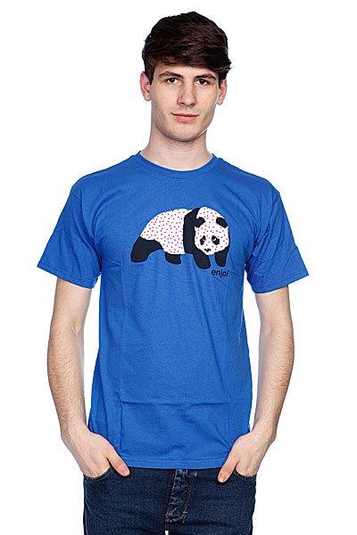Футболка Enjoi Sick Panda Royal<br><br>Цвет: фиолетовый<br>Тип: Футболка<br>Возраст: Взрослый<br>Пол: Мужской