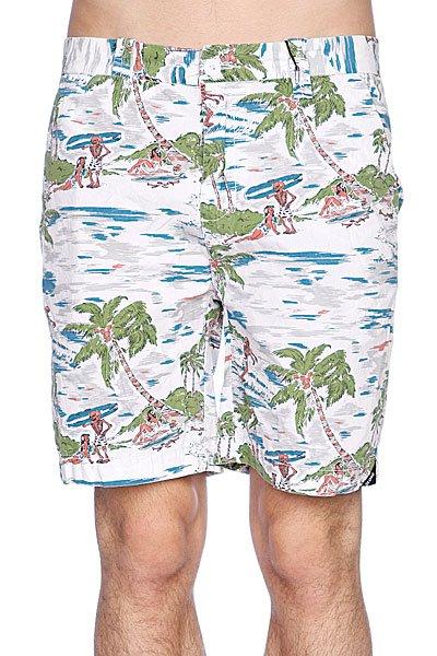Пляжные мужские шорты Globe Dubbed Short White<br><br>Цвет: белый<br>Тип: Шорты пляжные<br>Возраст: Взрослый<br>Пол: Мужской