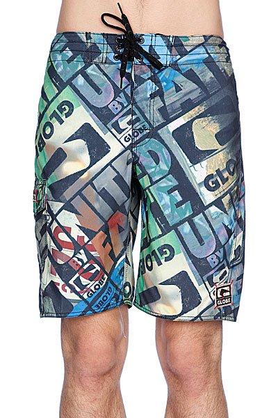 Пляжные мужские шорты Globe Roeder 21 Boardshort Multi Coloured<br><br>Цвет: зеленый,черный<br>Тип: Шорты пляжные<br>Возраст: Взрослый<br>Пол: Мужской