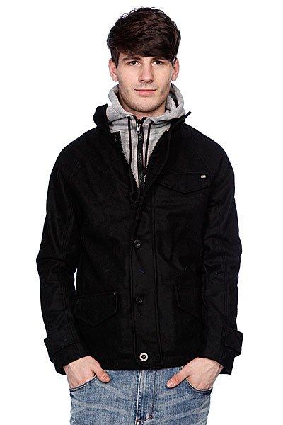 """Куртка Globe Nitro Jacket BlackСтильная городская куртка """"Globe Nitro"""" идеально подойдет для демисезонной погоды. Плотная ткань защитит от дождя и ветра, а капюшон выручит вас, если непогода застала вас врасплох и у вас под рукой не оказалось зонта.<br><br>Цвет: черный<br>Тип: Куртка<br>Возраст: Взрослый<br>Пол: Мужской"""