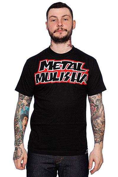 Футболка Metal Mulisha Contender Black<br><br>Цвет: черный<br>Тип: Футболка<br>Возраст: Взрослый<br>Пол: Мужской