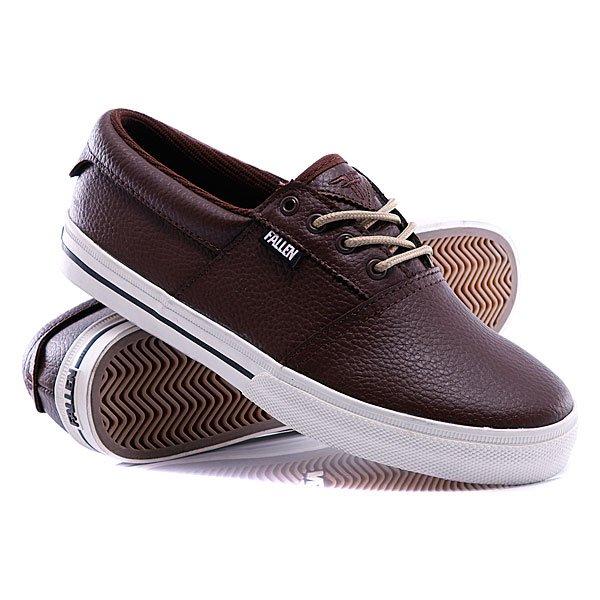 Кеды кроссовки Fallen Coronado Dark Brown кеды кроссовки низкие dc evan smith burgundy