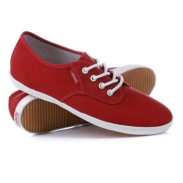 Кеды кроссовки женские Gravis Slymz Lx Wmn Red Wax